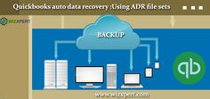 In this article we will explain you about the QuickBooks auto data recovery.  For more detail please visit the website: https://www.wizxpert.com/quickbooks-auto-data-recovery-using-adr-file-sets/