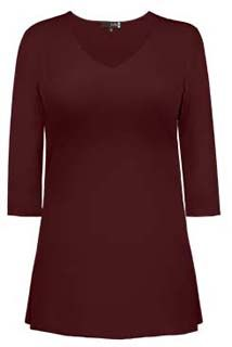 Judy P V-neck 3/4 sleeve tunic RETAIL  $105~WISH PRICE $50 Amy, Tunic, Retail, V Neck, Boutique, Sleeves, Sweaters, Tops, Fashion