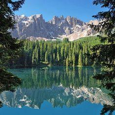 Karersee Latemar Dolomites  Trentino-Alto Adige/Südtirol Italy