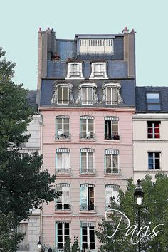 Paris... Is it just me or does this look like the house the aristocats lived in?