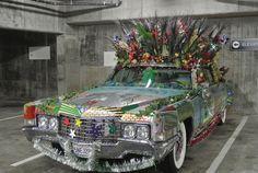 Crazy Happy San Francisco Car