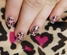 real easy and everyone loves this print Beauty Tips For Hair, My Beauty, Beauty Nails, Glam Nails, Cute Nails, Pretty Nails, Toe Designs, Nail Art Designs, Hair And Nails