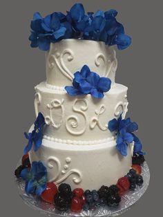 Wedding Cakes, Bakery, Fruit, Floral, Desserts, Food, Wedding Gown Cakes, Florals, Meal
