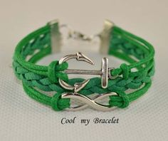 Handwoven personality infinite anchor bracelet by Coolmybracelet, $2.99