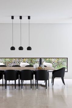Lighting Design Idea – 8 Different Style Ideas For Lighting Above Your Dining Table | Hang Three Pendant Lights