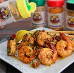 FlavorGod Crispy Honey walnut Shrimp!! All seasoned up with my #FlavorGod Lemon Garlic Seasoning! This recipe is amazing! Please visit me in myINSTAGRAM PAGE for full recipe details!