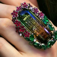 Fabulous ring By Lydia Corteille