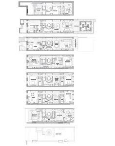 Perfect townhouse floor plan, via the Realestalker