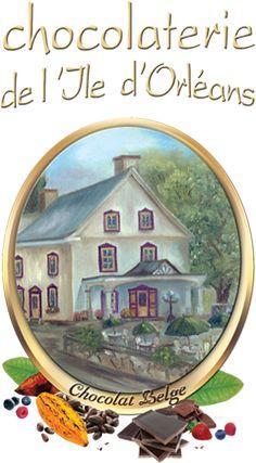Chocolaterie de l'île d'Orléans - on way to Montmorency Falls, Quebec