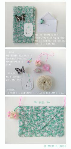 Liberty Bag... DIY by Marie-Laure of La Maison de Loulou