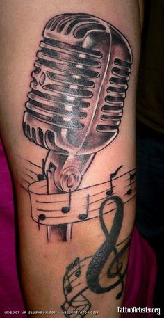 1000 images about Tattoos on Pinterest | Music Tattoos Vintage ...