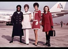 I used to be a flight attendant for American Airlines in the 1970's and I am nostalgic for those days!
