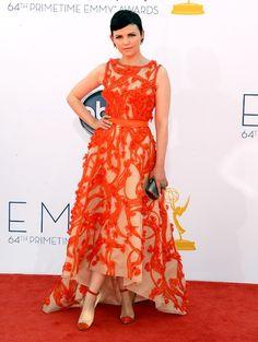 Emmy Awards 2012: de jurken   ELLE - GINNIFER GOODWIN  in Monique Lhuillier Resort 2013