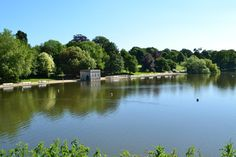 Mote Park, Maidstone, Kent England