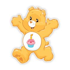 care bear birthday clipart | Care Bears Wall Graphics from Walls 360: Birthday Bear Run
