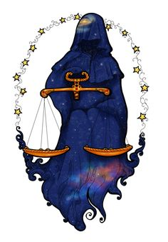 AstroSpirit / Libra ♎ / Air / Scales by CeciliaSal