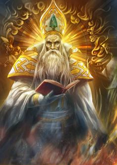 Archbishop Solhar Dariznu of Thaliost, Thrane, is very conspicuously corrupt. He leads a sect of the Silver Flame called the Servants of the Pure Flame (or the Puritans), who are notably both fanatical and disregard the edicts of the Church Proper, as voiced by the current Keeper of the Flame Jaela Daran. He has put many innocents to the flame in the name of the greater good. He might be influenced by Rak Tulkhesh, the Rage of War Eberron