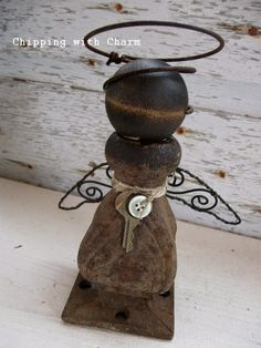 Chipping with Charm: Random Junk Angels...www.chippingwithcharm.blogspot.com