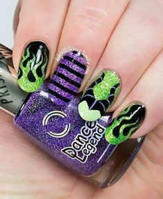 Maleficent Nails For X