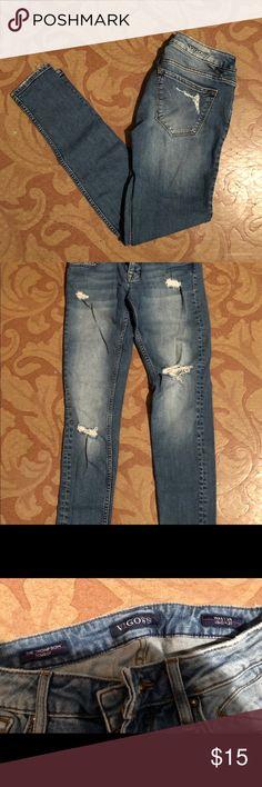 181146601dd Vigoss skinny jeans size 24 Vigoss The Thompson Tomboy size 24x27 - skinny  jeans - light