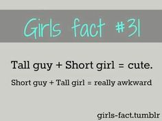 reasons for dating a short girl what would you consider dating