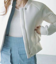 Jacket - Neoprene - Jackets - Jackets & Outerwear - Women - Modekungen