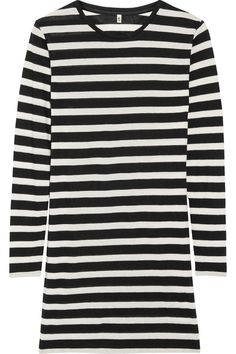 R13 | Striped cotton-blend mini dress | NET-A-PORTER.COM