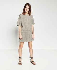 Image 1 of STRAIGHT DRESS from Zara