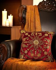 Big Indian Wedding web site. 4,430 rupees. Love the color. 17 x 17.
