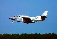 Navy T-2C Buckeye of VF-43 Squadron taking from NAS Oceana, 1989.