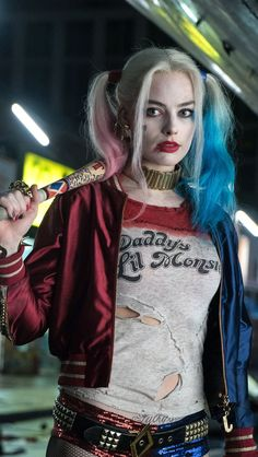 Inspired Repost: from Repost from using - Hey everyone! I know I've been less active than usual sorry! I've been a little sick and working on a secret cosplay! Harley Quinn Drawing, Harley Quinn Comic, Harley Quinn Cosplay, Arlequina Margot Robbie, Margot Robbie Harley Quinn, Finn Stranger Things, Perspective Photography, Celebs, Joker Art