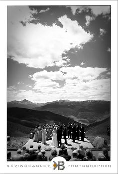 I want to get married in my favorite place on earth, the wedding deck on Vail Mountain