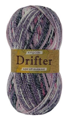 Drifter DK is a super soft, self striping yarn available in 12 fantastic shades.