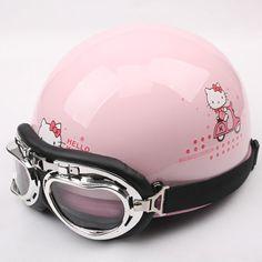 HELLO KITTY Harley helmet. Dare not be so mouth love na. Meng had. Vintage Motorcycles, Harley Davidson Motorcycles, Pink Love, Pretty In Pink, Hello Kitty Baby, Motorcycle Helmets, Kawaii, Football Helmets, Pink Stuff