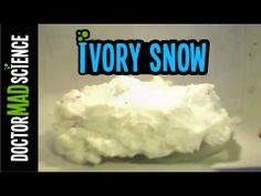 Ivory Soap + Microwave = SNOW  Kids Science Experiments