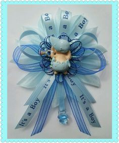Mommy baby shower corsage by Fancy Little Favors! Follow us in Facebook: FancyLittle Favors