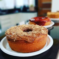 Bagel, Tasty, Bread, Mousse, Food, Sprinkle Cakes, No Churn Ice Cream, Delicious Desserts, Yummy Recipes