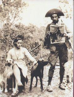 Maria Bonita e Lampião, 1936. Foto B. Abrahão, Aba-Film, Família Ferreira Nunes.