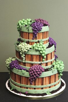 Grape Clusters by Alliance Bakery.