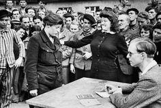 Henri Cartier- Bresson, Gestapo Informer, Dessau, Germany, 1945