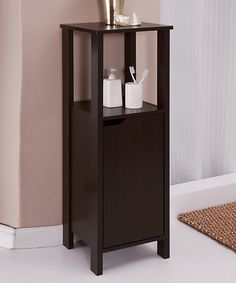 Look at this Espresso Floor Cabinet on #zulily today!