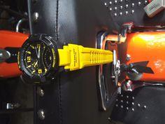 G-Shock GA-1000 Gravity Master Designer Watch - Yellow/Black /AVIAT9R FULL FUNCT #Casio #PilotAviator