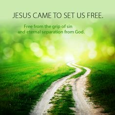 ~JESUS came to set us free...let us hold His hand... ♥  ♥  ♥