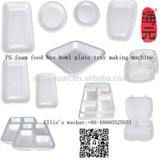 eps ps foam thermocol plate take away food plate making machine/ disposable food box bowl tray production line  sc 1 st  Pinterest & Thermocol plates or disposable plates are one of the commonly used ...