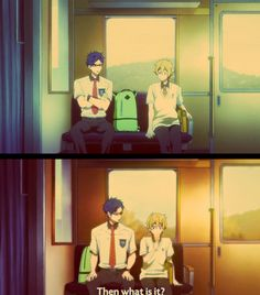 Free! -Nagisa and Rei, differences from season 1 and season 2, THE BACKPACK AAAAAA