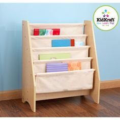sling book shelf- we need to make another one for B's room