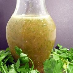 Going to try with a different vinegar April 2017 used red wine vinegar, very tasty but want to play around with it in the future. Cilantro-Lime Dressing - Allrecipes.com