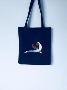 VIDA Tote Bag - reiki breathing blue by VIDA LR9i4HXjS