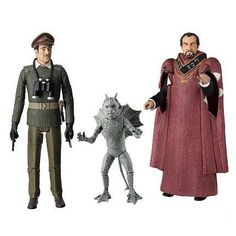 Doctor Who The Daemons Collectors Action Figure Set