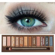 12 Easy Ideas For Prom Makeup For Blue Eyes Gurl ❤ liked on Polyvore featuring beauty products, makeup, eye makeup, eyes, beauty and eyeshadow